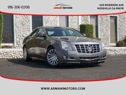 2012 Cadillac CTS for sale at Armani Motors in Roseville CA