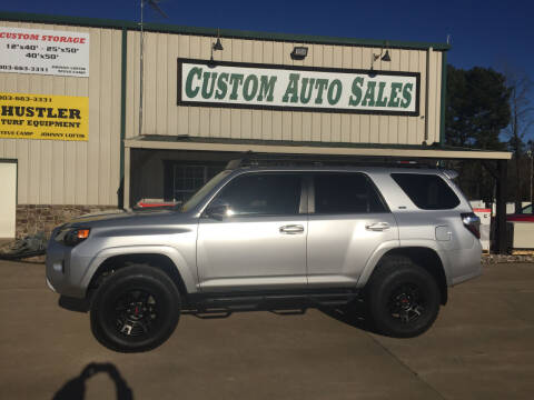2016 Toyota 4Runner for sale at Custom Auto Sales - AUTOS in Longview TX