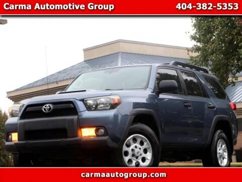 2013 Toyota 4Runner for sale at Carma Auto Group in Duluth GA