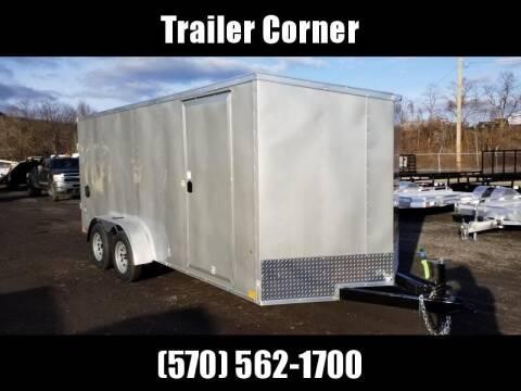 2021 Look Trailers STLC 7X16 - RAMP DOOR