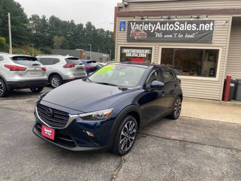 2019 Mazda CX-3 for sale at Variety Auto Sales in Worcester MA