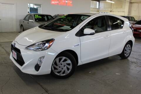 2015 Toyota Prius c for sale at R n B Cars Inc. in Denver CO