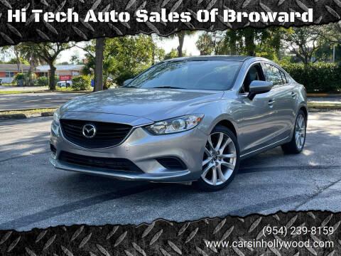 2015 Mazda MAZDA6 for sale at Hi Tech Auto Sales Of Broward in Hollywood FL