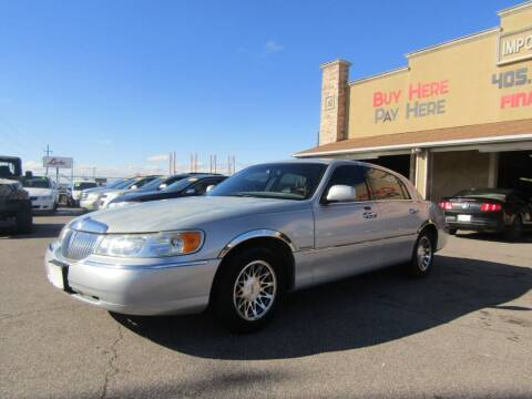 2001 Lincoln Town Car for sale at Import Motors in Bethany OK