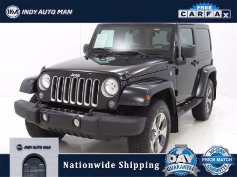 2016 Jeep Wrangler for sale at INDY AUTO MAN in Indianapolis IN