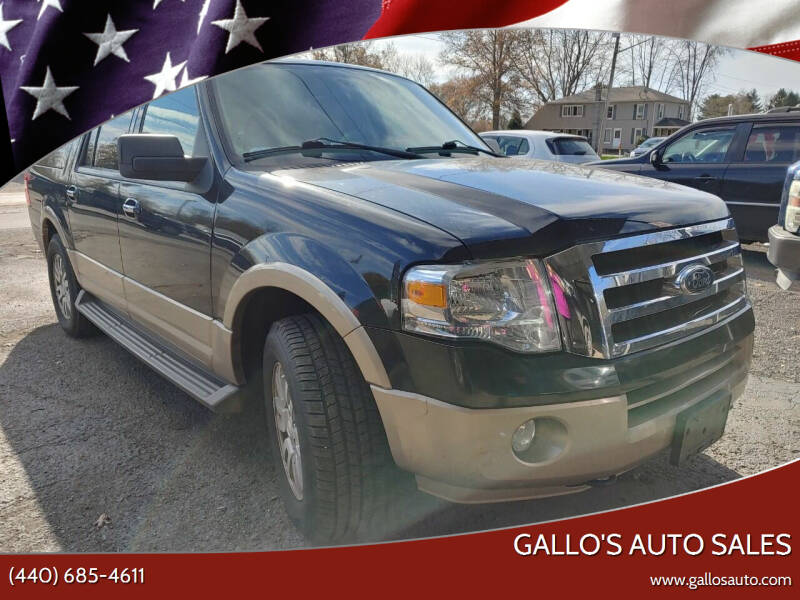 2011 Ford Expedition EL for sale at Gallo's Auto Sales in North Bloomfield OH