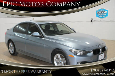 2014 BMW 3 Series for sale at Epic Motor Company in Chantilly VA