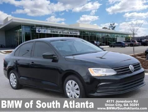 2015 Volkswagen Jetta for sale at Carol Benner @ BMW of South Atlanta in Union City GA