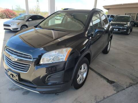 2015 Chevrolet Trax for sale at Carzz Motor Sports in Fountain Hills AZ