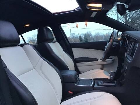 2018 Dodge Charger for sale at One Price Auto in Mount Clemens MI