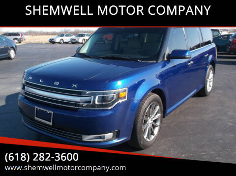 2013 Ford Flex for sale at SHEMWELL MOTOR COMPANY in Red Bud IL