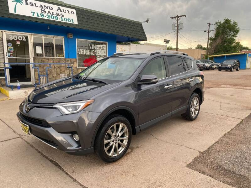 2016 Toyota RAV4 for sale at Island Auto Sales in Colorado Springs CO