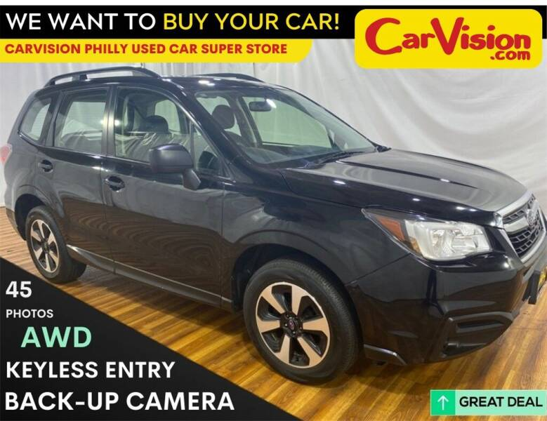 2018 Subaru Forester for sale at Car Vision Mitsubishi Norristown - Car Vision Philly Used Car SuperStore in Philadelphia PA