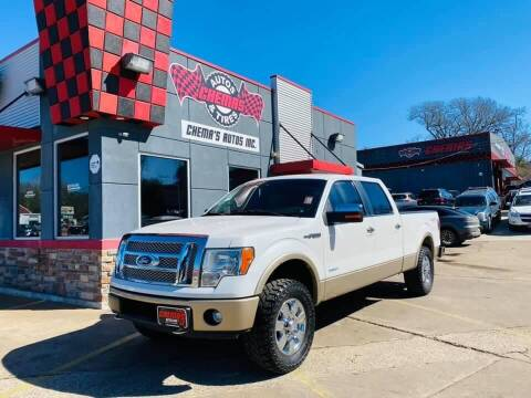 2012 Ford F-150 for sale at Chema's Autos & Tires in Tyler TX