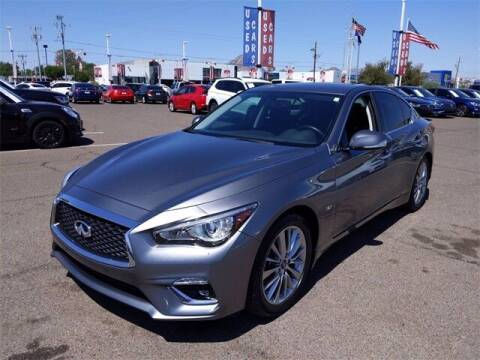 2018 Infiniti Q50 for sale at Camelback Volkswagen Subaru in Phoenix AZ