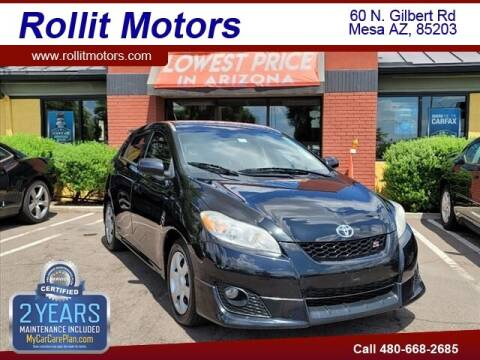 2010 Toyota Matrix for sale at Rollit Motors in Mesa AZ