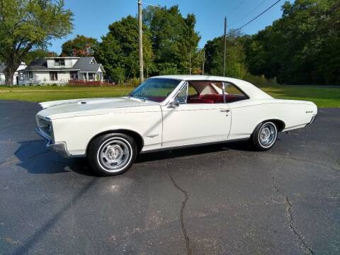 1966 Pontiac GTO for sale at Depue Auto Sales Inc in Paw Paw MI