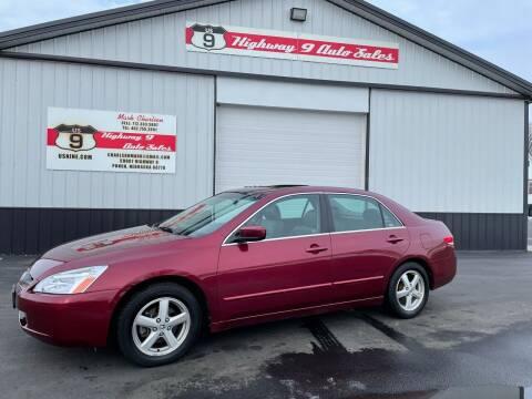 2004 Honda Accord for sale at Highway 9 Auto Sales - Visit us at usnine.com in Ponca NE