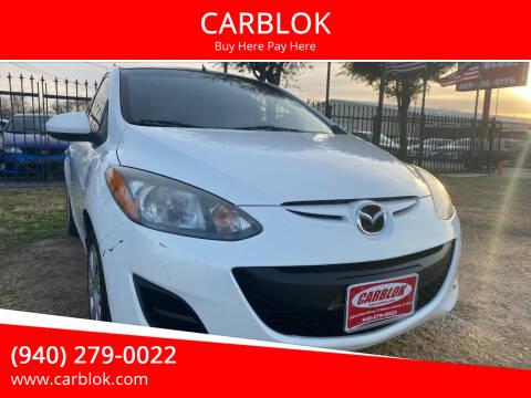 2014 Mazda MAZDA2 for sale at CARBLOK in Lewisville TX