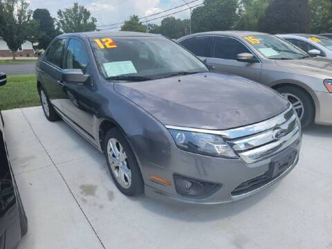 2012 Ford Fusion for sale at Bowar & Son Auto LLC in Janesville WI