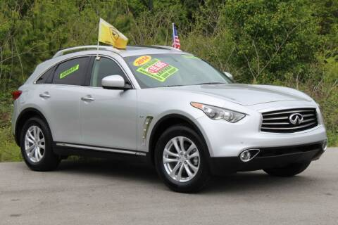 2014 Infiniti QX70 for sale at McMinn Motors Inc in Athens TN