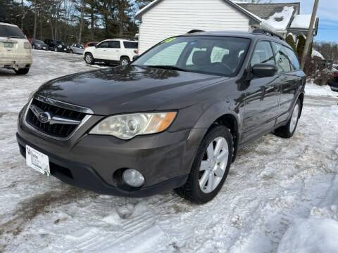 2008 Subaru Outback for sale at Williston Economy Motors in Williston VT