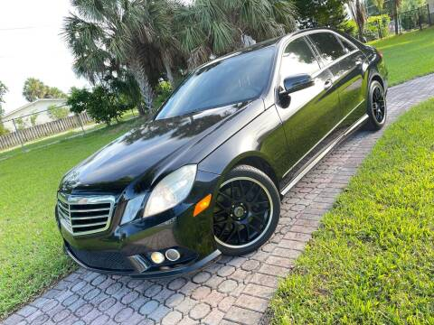 2010 Mercedes-Benz E-Class for sale at Citywide Auto Group LLC in Pompano Beach FL