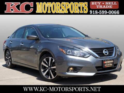 2016 Nissan Altima for sale at KC MOTORSPORTS in Tulsa OK