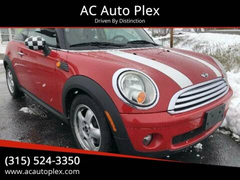 2009 MINI Cooper for sale at AC Auto Plex in Ontario NY