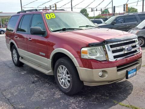 2008 Ford Expedition for sale at Arak Auto Group in Bourbonnais IL