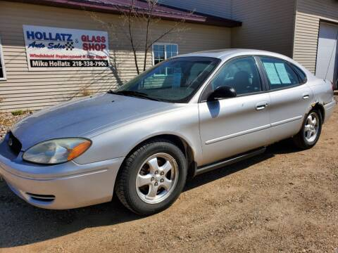 2005 Ford Taurus for sale at Hollatz Auto Sales in Parkers Prairie MN