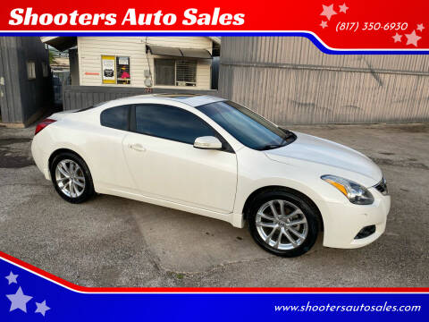 2010 Nissan Altima for sale at Shooters Auto Sales in Fort Worth TX