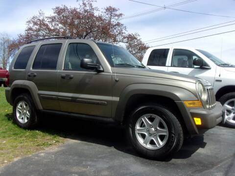 2006 Jeep Liberty for sale at Dave Franek Automotive in Wantage NJ