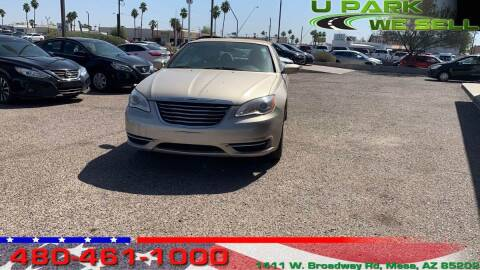 2014 Chrysler 200 Convertible for sale at UPARK WE SELL AZ in Mesa AZ