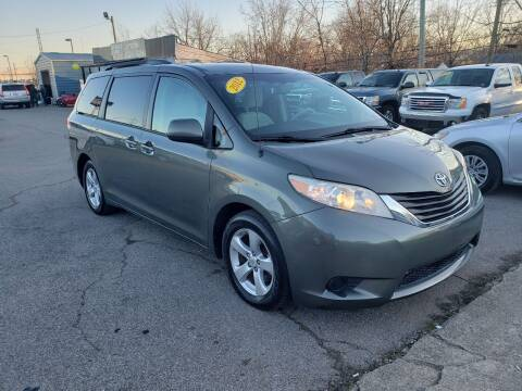 2012 Toyota Sienna for sale at LexTown Motors in Lexington KY
