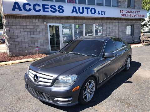 2013 Mercedes-Benz C-Class for sale at Access Auto in Salt Lake City UT
