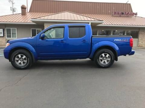 2012 Nissan Frontier for sale at Motors Inc in Mason MI