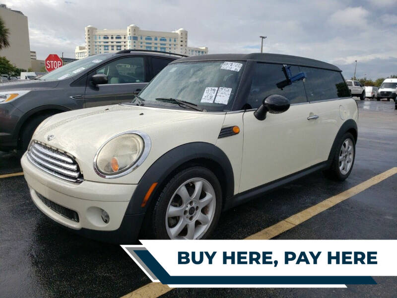 2010 MINI Cooper Clubman for sale at Best Auto Deal N Drive in Hollywood FL