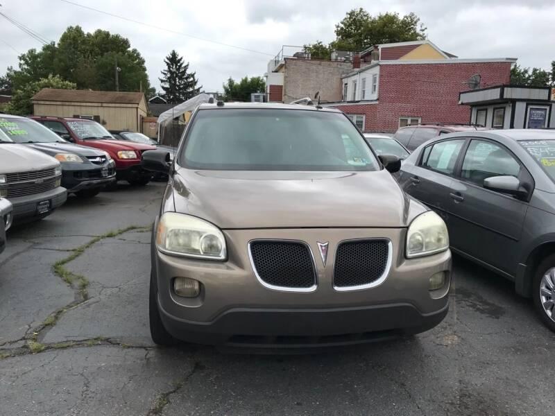 2006 Pontiac Montana SV6 for sale at Chambers Auto Sales LLC in Trenton NJ