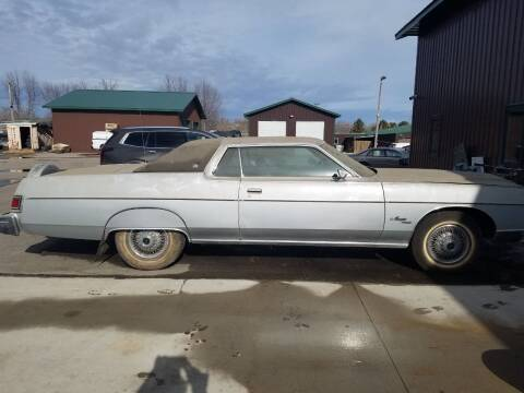 1976 Mercury Marquis for sale at Pro Auto Sales and Service in Ortonville MN