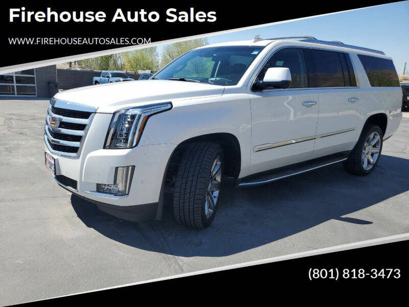 2017 Cadillac Escalade ESV for sale at Firehouse Auto Sales in Springville UT
