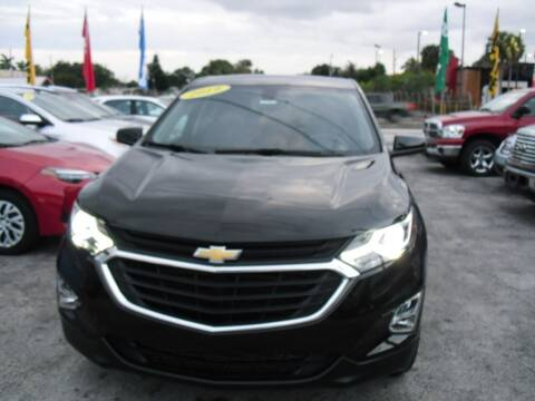2019 Chevrolet Equinox for sale at SUPERAUTO AUTO SALES INC in Hialeah FL