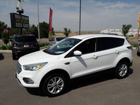 2018 Ford Escape for sale at More-Skinny Used Cars in Pueblo CO
