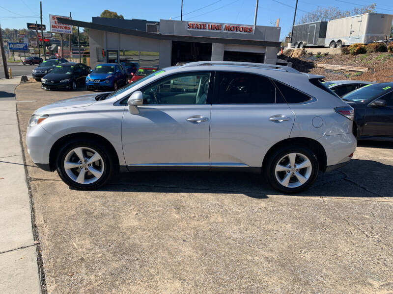 2010 Lexus RX 350 for sale at State Line Motors in Bristol VA