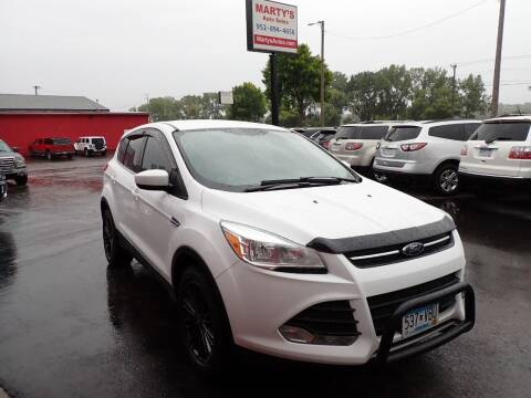 2014 Ford Escape for sale at Marty's Auto Sales in Savage MN