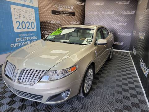2011 Lincoln MKS for sale at X Drive Auto Sales Inc. in Dearborn Heights MI