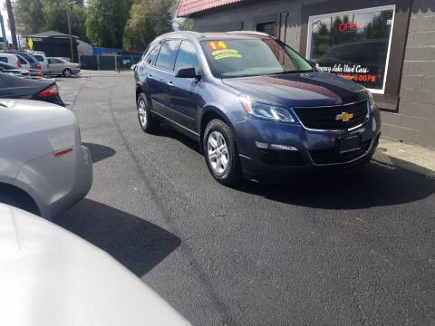 2014 Chevrolet Traverse for sale at Bonney Lake Used Cars in Puyallup WA