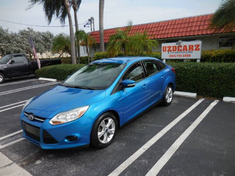 2013 Ford Focus for sale at Uzdcarz Inc. in Pompano Beach FL