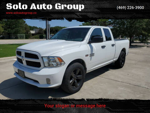 2016 RAM Ram Pickup 1500 for sale at Solo Auto Group in Mckinney TX