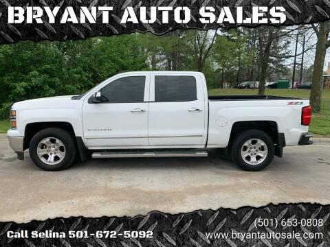 2014 Chevrolet Silverado 1500 for sale at BRYANT AUTO SALES in Bryant AR